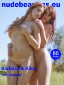 Barbara & Alice in 489 - Hot Summer gallery from NUDEBEAUTIES by Marcus Ernst