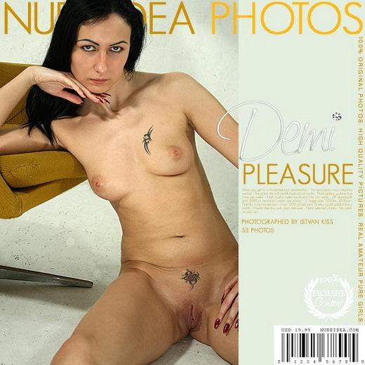 Demi - `Pleasure` - for NUDEIDEA