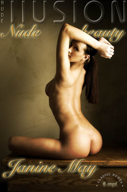 Janine May - by Laurie Jeffery for NUDEILLUSION