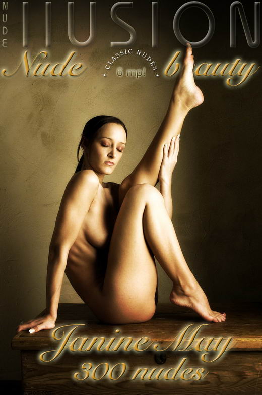 Janine May - `300 Nudes` - by Laurie Jeffery for NUDEILLUSION