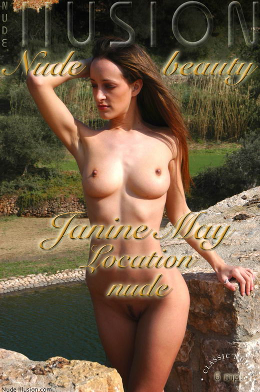 Janine May - `Location Nude` - by Laurie Jeffery for NUDEILLUSION