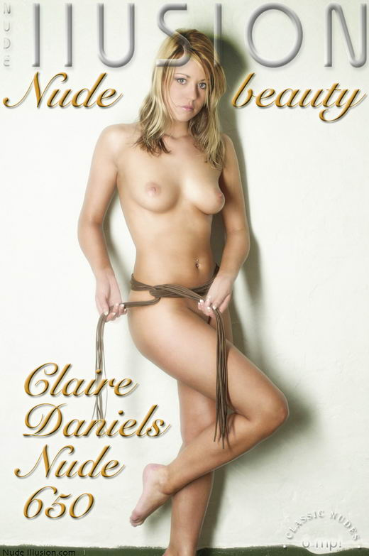 Claire Daniels - `Nude 650` - by Laurie Jeffery for NUDEILLUSION