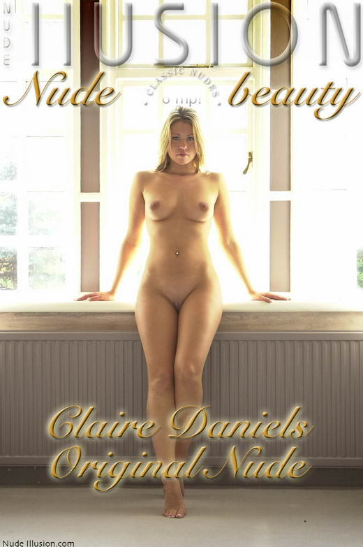 Claire Daniels - `Original Nude` - by Laurie Jeffery for NUDEILLUSION