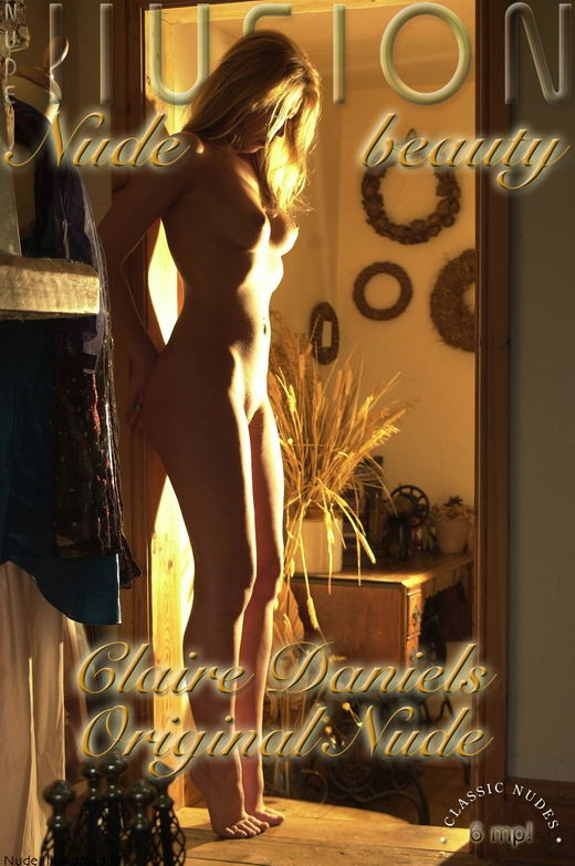 Claire Daniels - `Original Nudes` - by Laurie Jeffery for NUDEILLUSION
