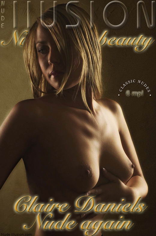Claire Daniels - `Nude again` - by Laurie Jeffery for NUDEILLUSION