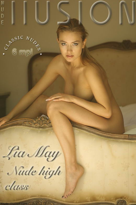 Lia May - `Nude high class` - by Laurie Jeffery for NUDEILLUSION