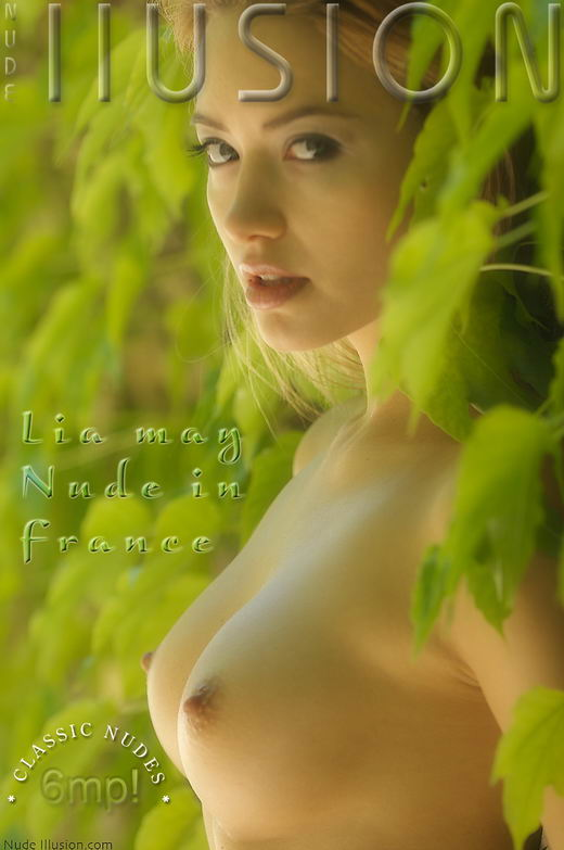 Lia May - `Nude in France` - by Laurie Jeffery for NUDEILLUSION
