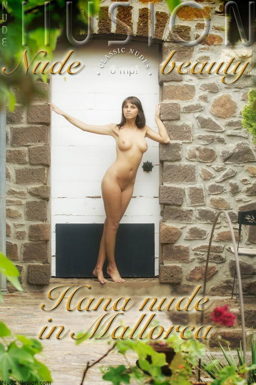 Hana - `Nude in Mallorca` - by Laurie Jeffery for NUDEILLUSION