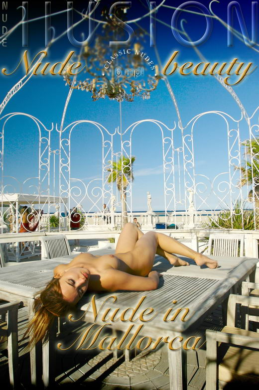 `Nude in Mallorca` - by Laurie Jeffery for NUDEILLUSION
