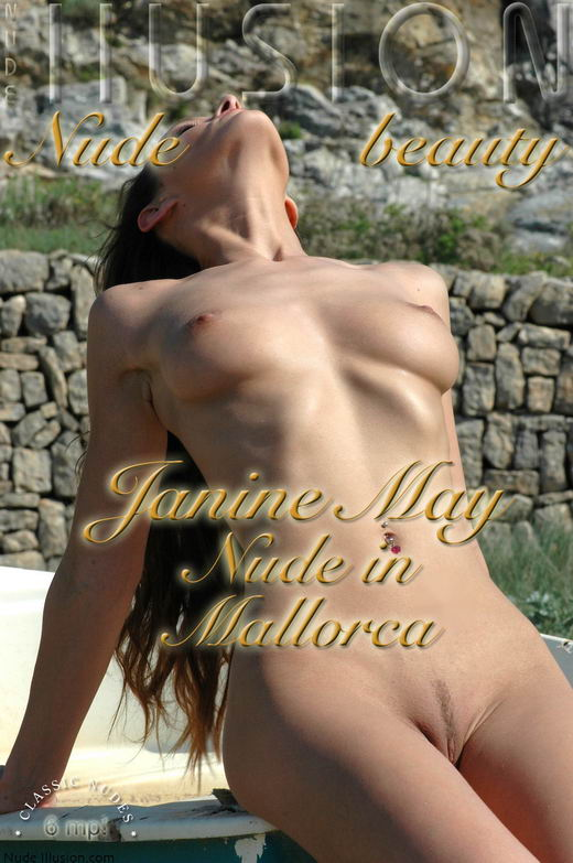 Janine May - `Nude in Mallorca` - by Laurie Jeffery for NUDEILLUSION