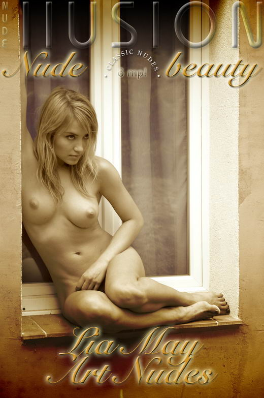 Lia May - `Art Nudes` - by Laurie Jeffery for NUDEILLUSION