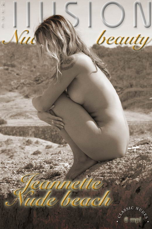 Jeannette - `Nude beach` - by Laurie Jeffery for NUDEILLUSION