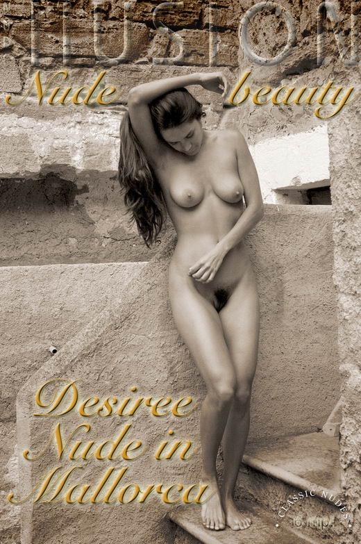 Desiree - `Nude in Mallorca` - by Laurie Jeffery for NUDEILLUSION