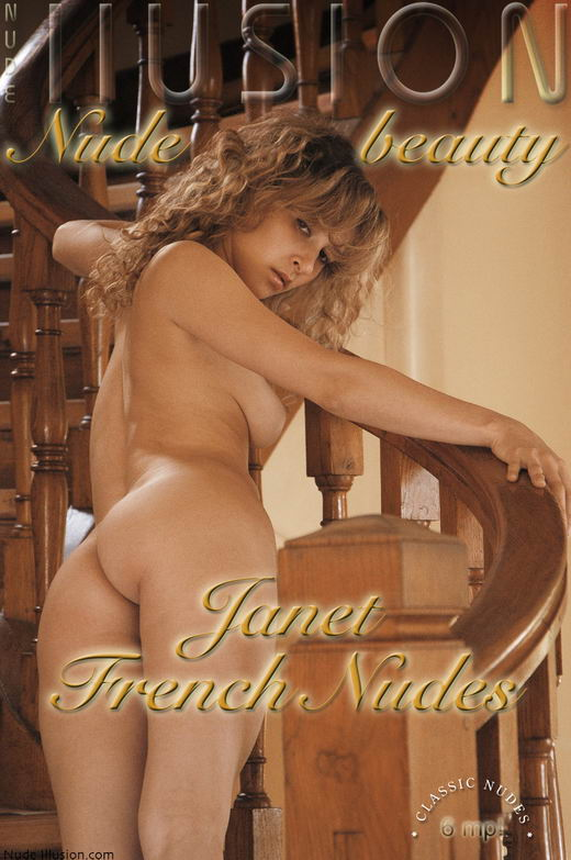 Janet - `French Nudes` - by Laurie Jeffery for NUDEILLUSION