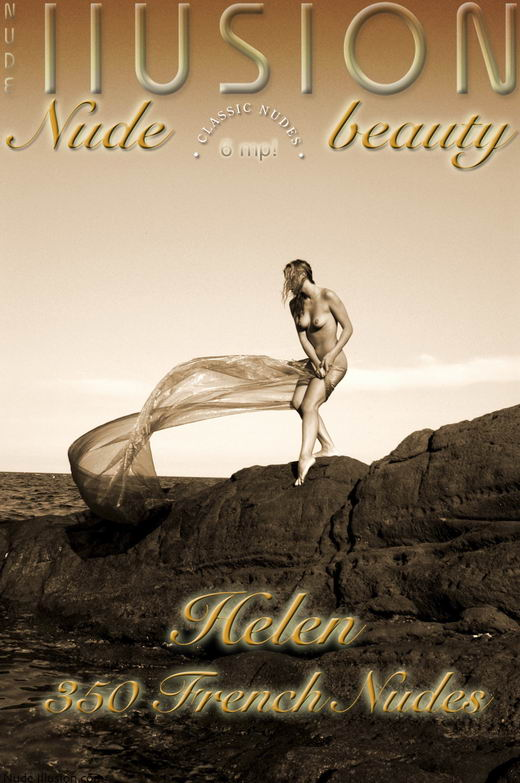 Helen - `350 French Nudes` - by Laurie Jeffery for NUDEILLUSION