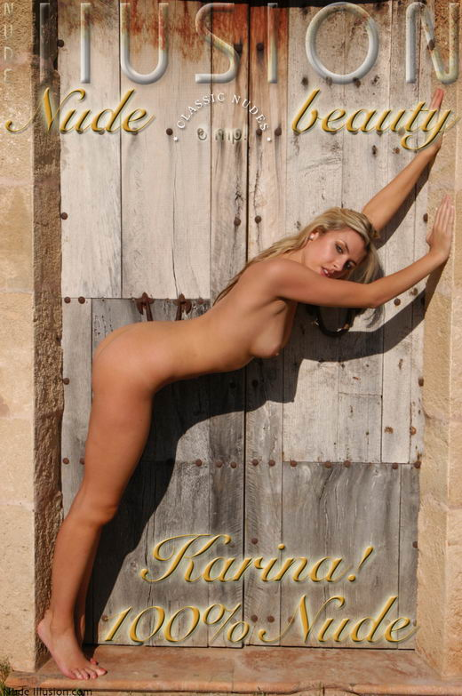 karina - `100% Nude` - by Laurie Jeffery for NUDEILLUSION