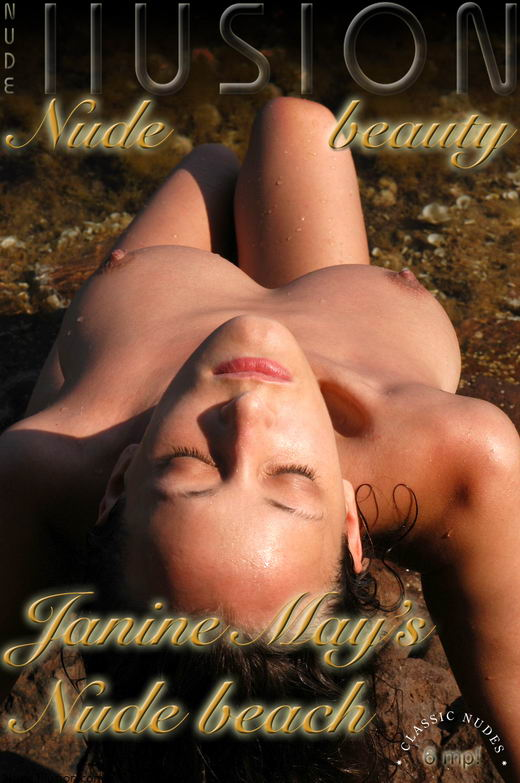 Janine May - `Nude beach` - by Laurie Jeffery for NUDEILLUSION