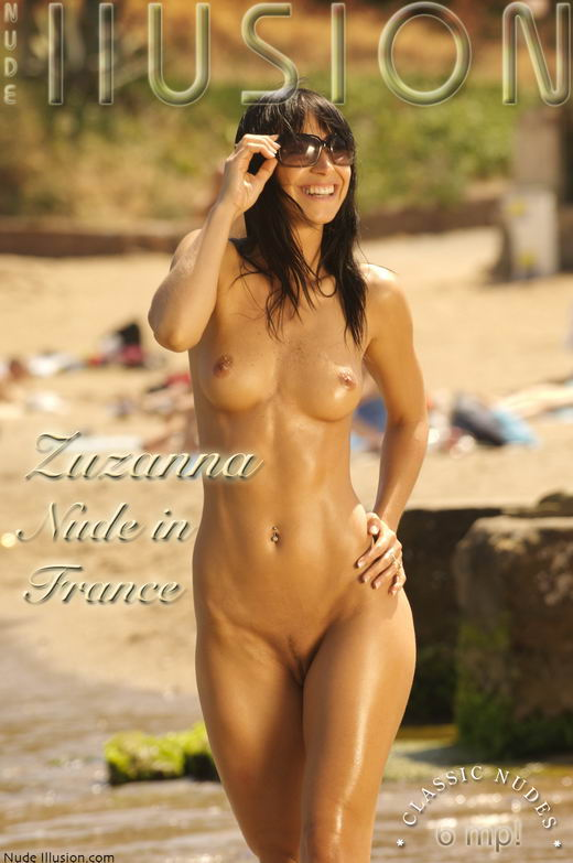Zuzanna - `Nude in France` - by Laurie Jeffery for NUDEILLUSION