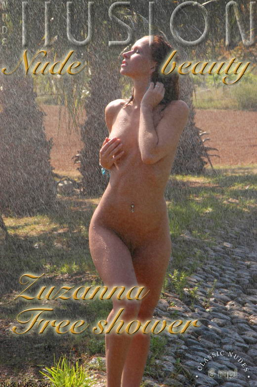 Zuzanna - `Free shower` - by Laurie Jeffery for NUDEILLUSION