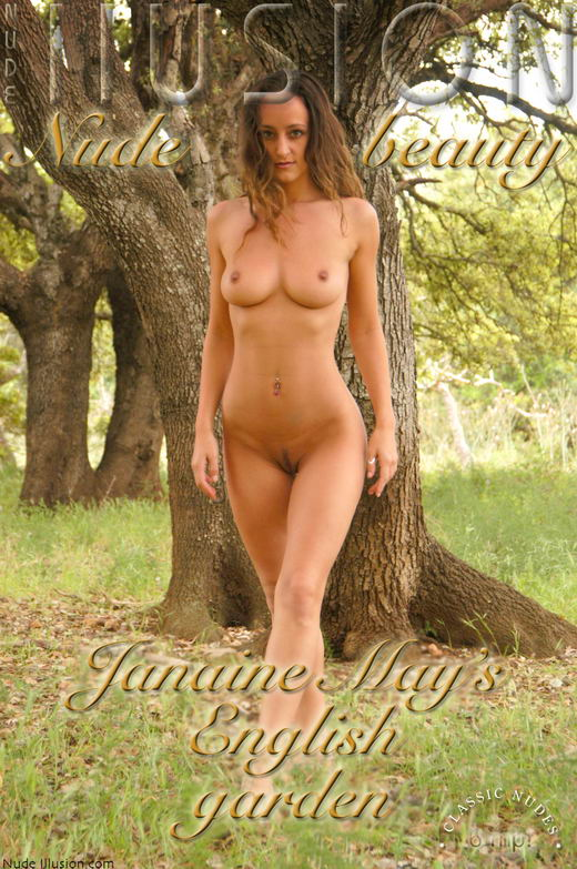 Jeanine May - `English Garden` - by Laurie Jeffery for NUDEILLUSION