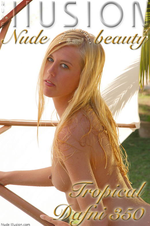 Dafni - `Tropical Dafni 350` - by Laurie Jeffery for NUDEILLUSION