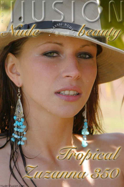 Zuzanna - `Tropical Zuzanna 350` - by Laurie Jeffery for NUDEILLUSION