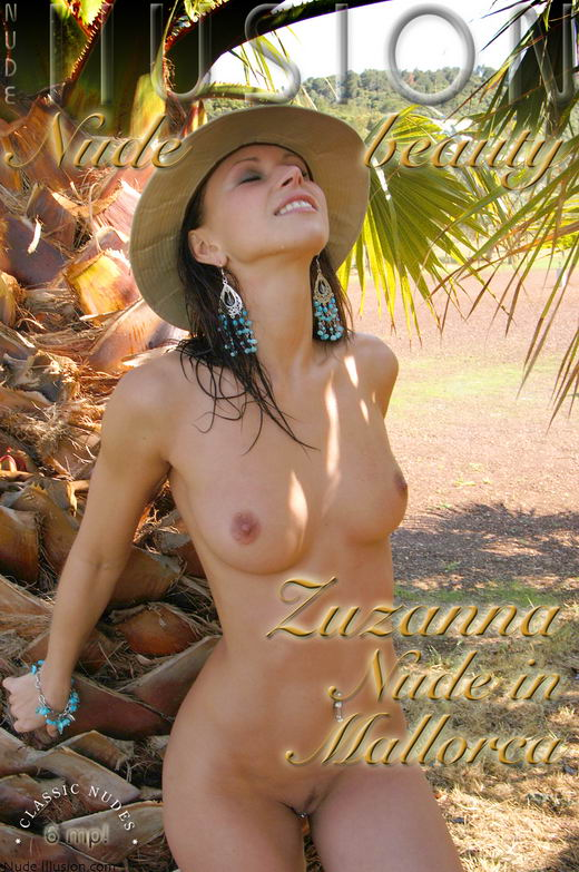 Zuzanna - `Nude in Mallorca` - by Laurie Jeffery for NUDEILLUSION