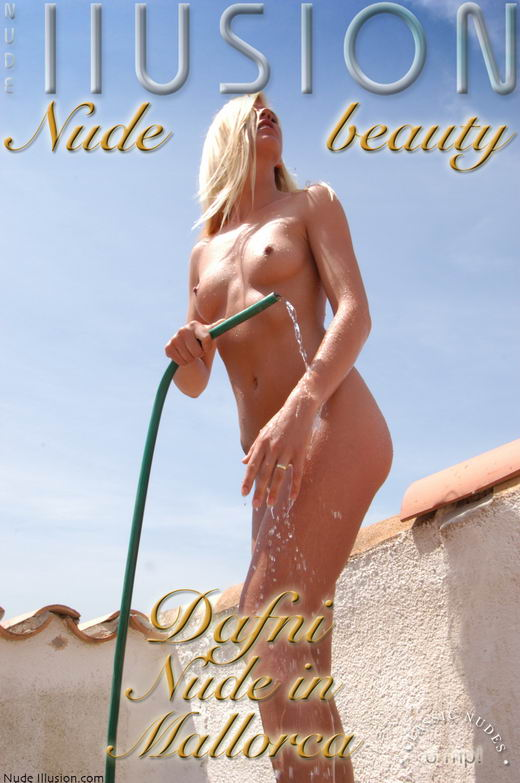 Dafni - `Nude in Mallorca` - by Laurie Jeffery for NUDEILLUSION