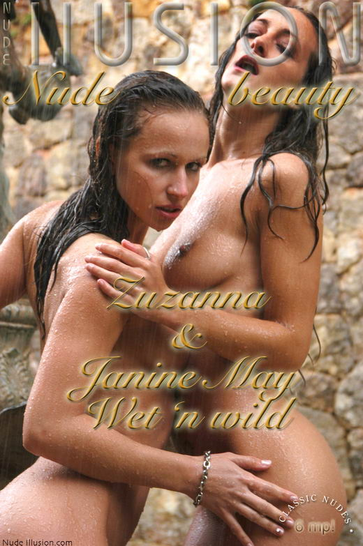 Zuzanna  & Janine May - `Wet 'n wild` - by Laurie Jeffery for NUDEILLUSION