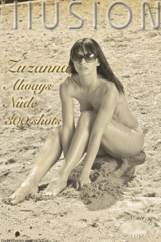 Zuzanna - `Always Nude 300 shots` - by Laurie Jeffery for NUDEILLUSION