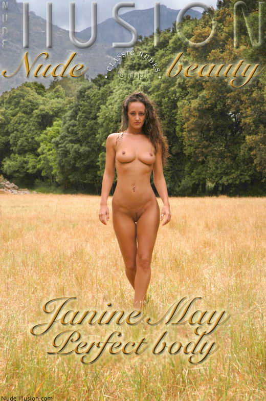 Janine May - `Perfect body` - by Laurie Jeffery for NUDEILLUSION