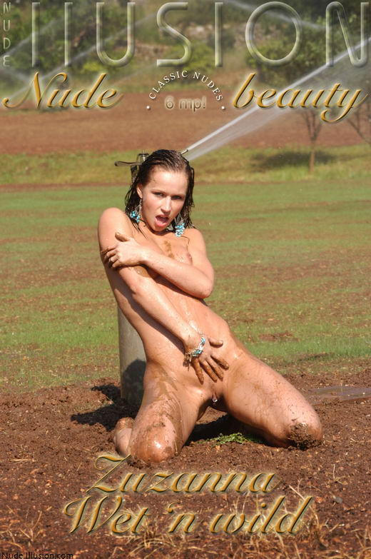 Zuzanna - `Wet 'n wild` - by Laurie Jeffery for NUDEILLUSION