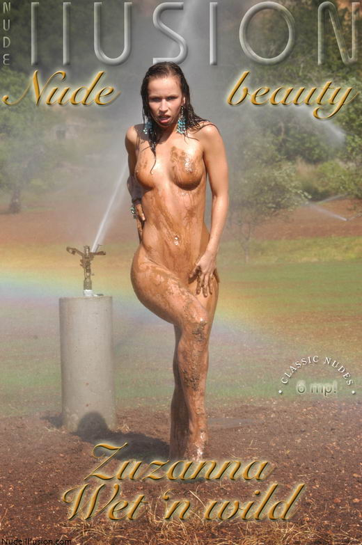 Zuzanna - `Wet'n wild` - by Laurie Jeffery for NUDEILLUSION
