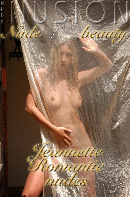 Jeannette - `Romantic nudes` - by Laurie Jeffery for NUDEILLUSION