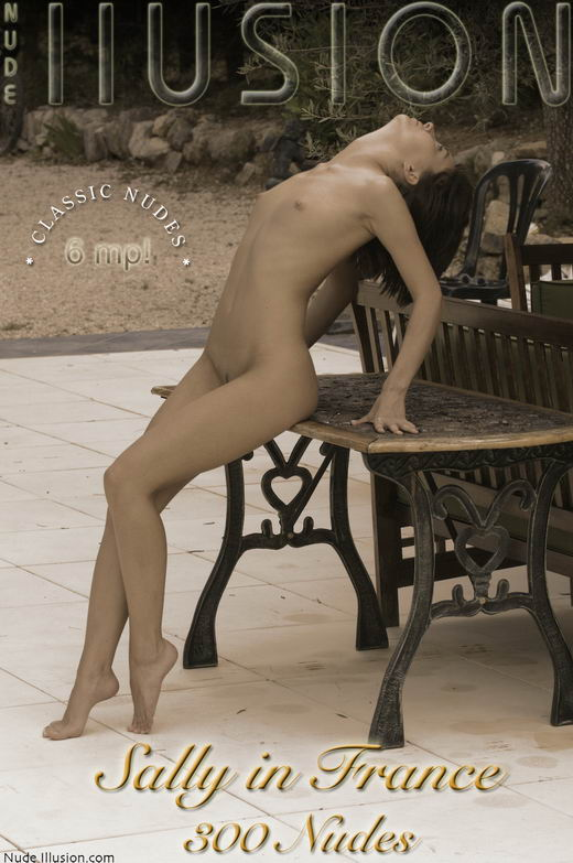 Sally - `Sally in France 300 Nudes` - by Laurie Jeffery for NUDEILLUSION