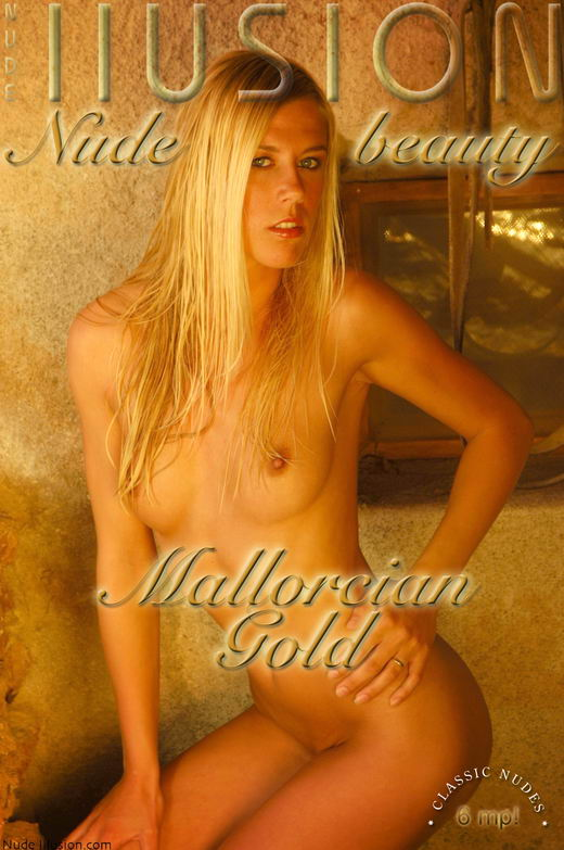 `Mallorcian gold` - by Laurie Jeffery for NUDEILLUSION