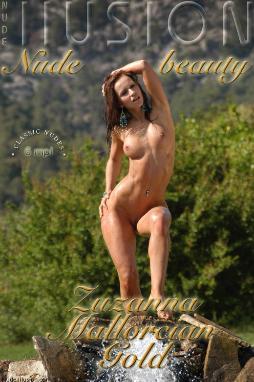Zuzanna - `Mallorcian Gold` - by Laurie Jeffery for NUDEILLUSION