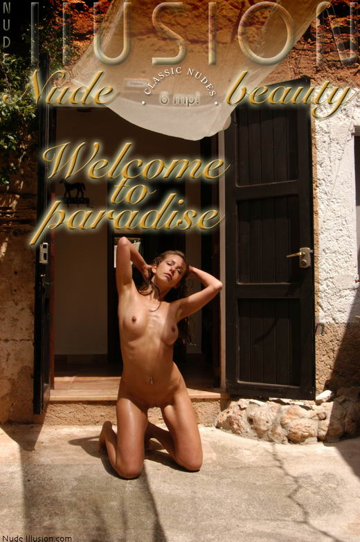 `Welcome to paradise` - by Laurie Jeffery for NUDEILLUSION