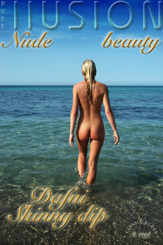 Dafni - `Skinny dip` - by Laurie Jeffery for NUDEILLUSION