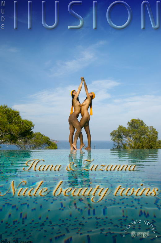 Hana & Suzanna - `Nude beauty twins` - by Laurie Jeffery for NUDEILLUSION