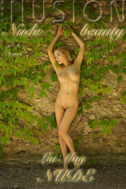 Lia May - `NUDE` - by Laurie Jeffery for NUDEILLUSION