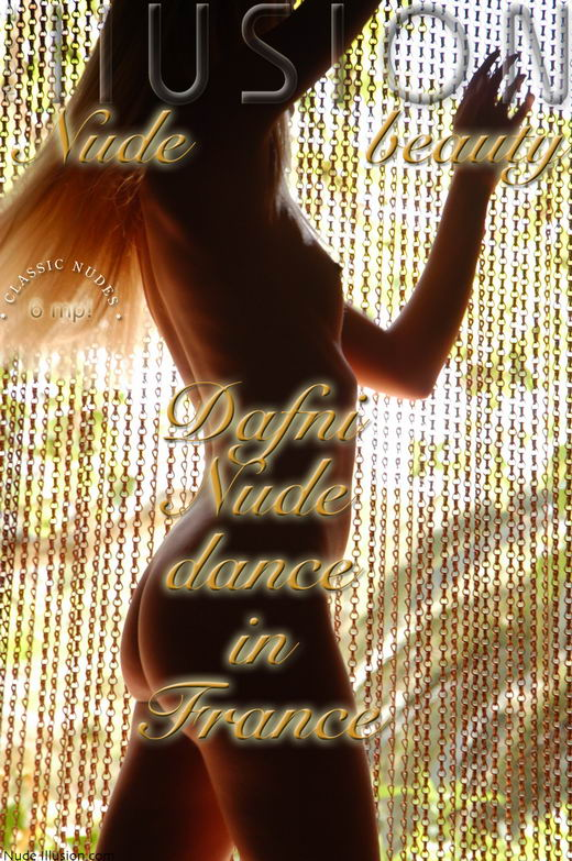 Dafni - `Nude dance in France` - by Laurie Jeffery for NUDEILLUSION