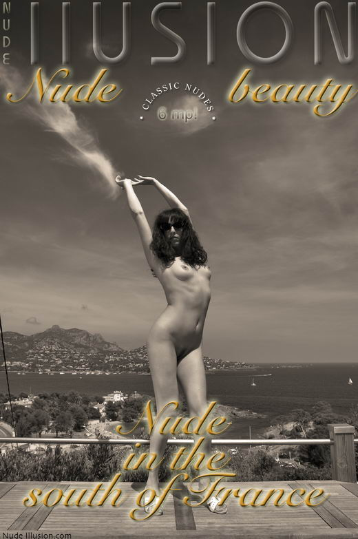 `Nude in the south of France` - by Laurie Jeffery for NUDEILLUSION