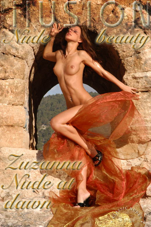 Zuzanna - `Nude at dawn` - by Laurie Jeffery for NUDEILLUSION