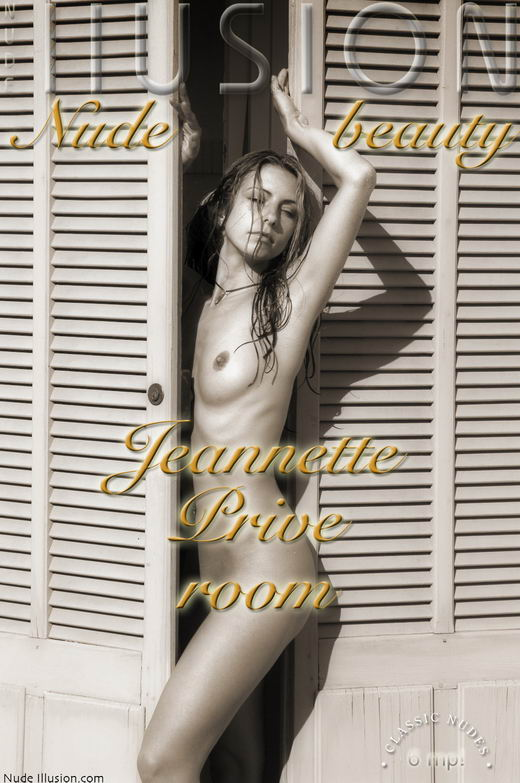 Jeannette - `Prive room` - by Laurie Jeffery for NUDEILLUSION