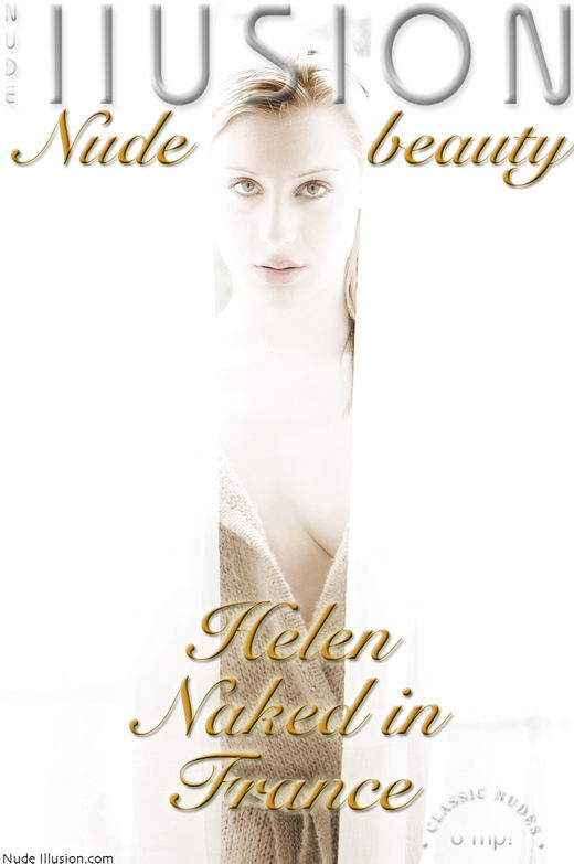 Helen - `Naked in France` - by Laurie Jeffery for NUDEILLUSION