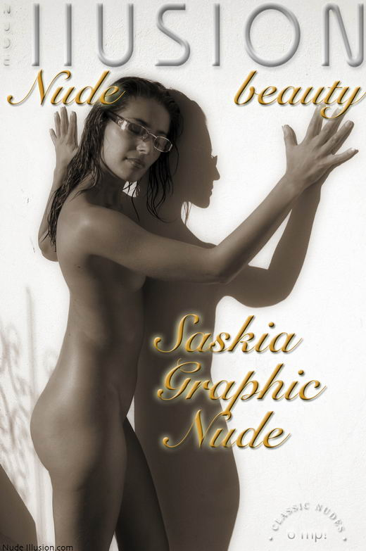 Saskia - `Graphic Nude` - by Laurie Jeffery for NUDEILLUSION