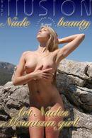 Art Nudes Mountain Girl