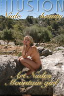 Art Nudes Mountain girl
