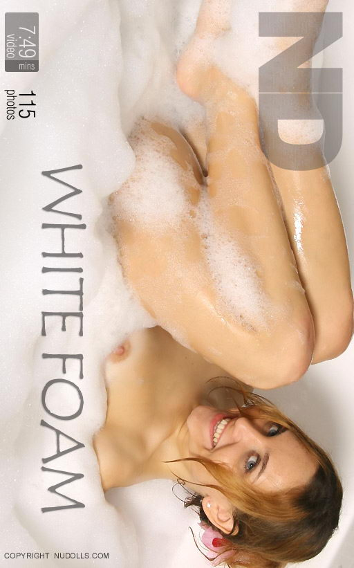 Julia - `White Foam` - for NUDOLLS VIDEO